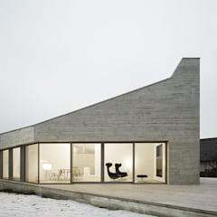 E20 Wohnhaus:  Terrasse von steimle architekten