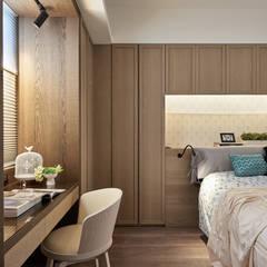 Bedroom by 思為設計 SW Design,