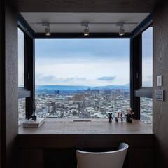 私宅-玩味:  書房/辦公室 by 思為設計 SW Design