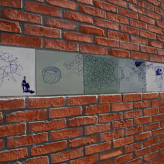 Uilebomen den Haag Moderne scholen van José den Hartog Modern Tegels