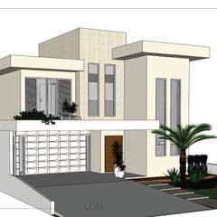 ARQUITETURA | Casa God: Casas  por Lon Arquitetura