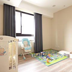 Nursery/kid's room by 耀昀創意設計有限公司/Alfonso Ideas
