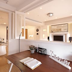 Study/office by 耀昀創意設計有限公司/Alfonso Ideas