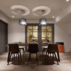 融合 Scandinavian style dining room by 耀昀創意設計有限公司/Alfonso Ideas Scandinavian