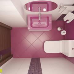 МЭДИСОН АВЕНЮ: Ванные комнаты в . Автор – Мастерская интерьера Юлии Шевелевой