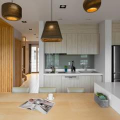 宜蘭健康屋 日式:  廚房 by 耀昀創意設計有限公司/Alfonso Ideas
