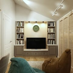 classic Media room by Loft&Home