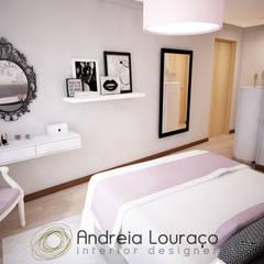 Quartos  por Andreia Louraço - Designer de Interiores (Contacto: atelier.andreialouraco@gmail.com)