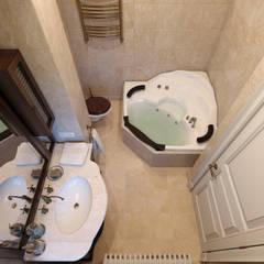 Дизайн-проект 2 этажа загородного дома: Ванные комнаты в . Автор – Антон Булеков