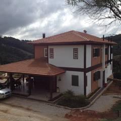 Residência Venâncios: Casas  por Studio + Arquitetura e Urbanismo