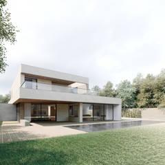Moradia Unifamiliar Bicuda L3|4: Casas  por MARQA - Mello Arquitetos Associados