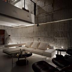 Living room by 沈志忠聯合設計