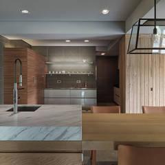 Küche von 沈志忠聯合設計
