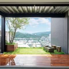 بلكونة أو شرفة تنفيذ 前置建築 Preposition Architecture