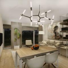 :  Dining room by KOKON zespół architektoniczny