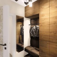 :  Corridor & hallway by KOKON zespół architektoniczny,Modern