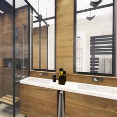 : modern Bathroom by KOKON zespół architektoniczny