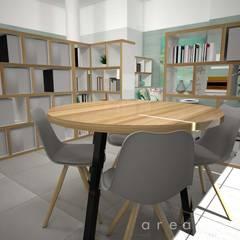Projeto DP: Escritórios e Espaços de trabalho  por Areabranca,Moderno