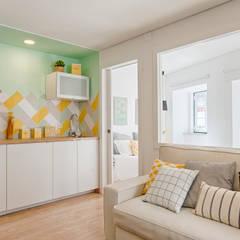 Apartamento Elétrico : Cozinhas  por menta, creative architecture