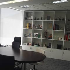 Presidencia: Oficinas y Tiendas de estilo  por Soluciones Técnicas y de Arquitectura
