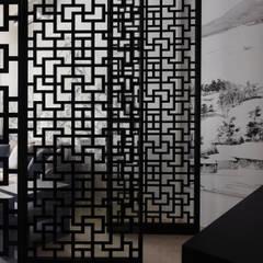 富「村」山居Dwelling in the Fuchun Mountains:  窗戶 by Glocal Architecture Office (G.A.O) 吳宗憲建築師事務所/安藤國際室內裝修工程有限公司