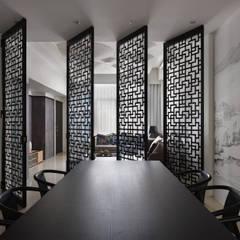 Projekty,  Jadalnia zaprojektowane przez Glocal Architecture Office (G.A.O) 吳宗憲建築師事務所/安藤國際室內裝修工程有限公司