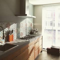 Klantenfoto's:  Keuken door Designtegels