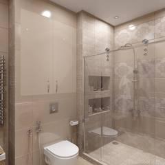 Интерьер квартиры Даудель Лакшери: Ванные комнаты в . Автор – Мастерская дизайна Онищенко Марии