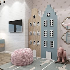 Kamar Bayi & Anak by Interior designers Pavel and Svetlana Alekseeva