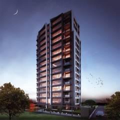 Fenster Yapı Ltd – Ihlamur Terrace:  tarz Pencere