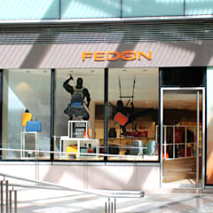 FEDON - K11 ART MALL :  Shopping Centres by M2A Design, Modern Wood Wood effect