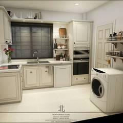 Kitchen by เหนือ ดีไซน์ สตูดิโอ (North Design Studio)