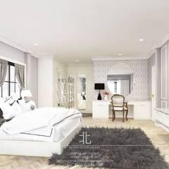 eclectic Bedroom by เหนือ ดีไซน์ สตูดิโอ (North Design Studio)