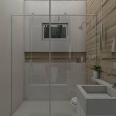 Bathroom by UNUM - ARQUITETURA E ENGENHARIA