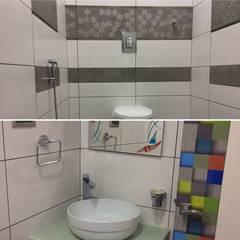 Residence Interior Design:  Bathroom by Nabh Design & Associates