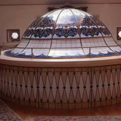 nev vitray – Kubbe - Dome:  tarz Duvarlar