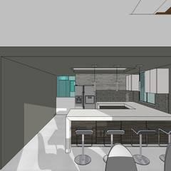 Conjunto residencial campestre: Cocinas de estilo  por MARATEA Estudio,
