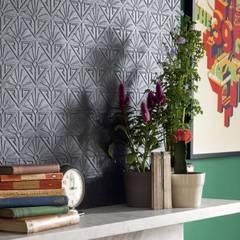 ANAGLYPTA (papel de parede de pintar): Paredes  por Aprifer