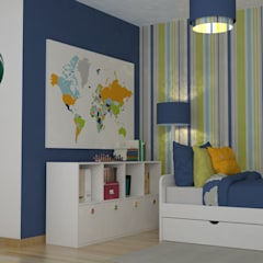 غرفة الاطفال تنفيذ Oficina Rústica (OFR Unipessoal Lda)