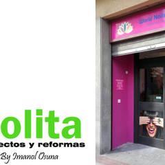 SALÓN DE MANICURA _ 2016: Spa de estilo  de POLITA proyectos y reformas