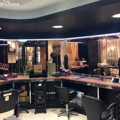 """PETIT """"peluquería unisex"""" _ 2016: Spa de estilo  de POLITA proyectos y reformas"""