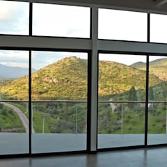 หน้าต่าง โดย Directorio Inmobiliario, เมดิเตอร์เรเนียน กระจกและแก้ว