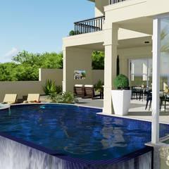 泳池 by arquiteto bignotto