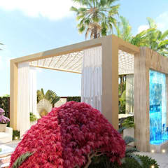 Landscaping in Dubai of Katrina Antonovich:  Houses by Luxury Antonovich Design