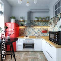 scandinavian Kitchen by Loft&Home