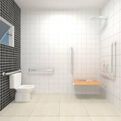 Phòng tắm by Atelie 3 Arquitetura