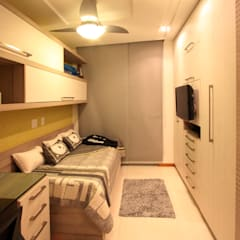 Apartamento em Icaraí I - Niterói: Quartos  por Arquinovação ,Moderno