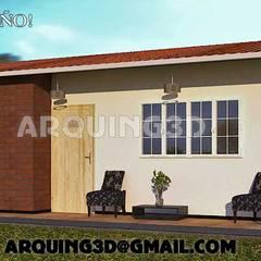 diseños en peru: Casas de estilo  por Arquing3d