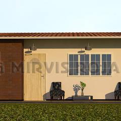 Diseño de vivienda: Casas de estilo  por Arquing3d