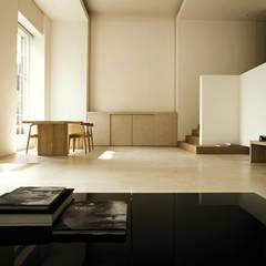 Living Room:  Woonkamer door Jen Alkema architect